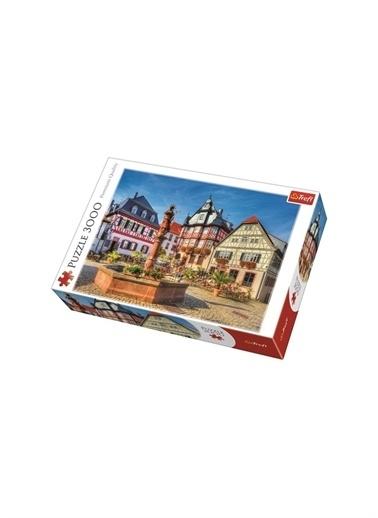 Art Puzzle Art Puzzle Market Square, Heppenheım -3000 Parça Renksiz